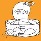 tuna tin cat by Soxy Fleming