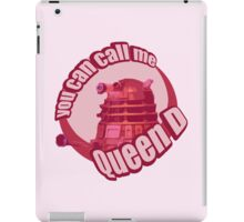 Queen Dalek iPad Case/Skin