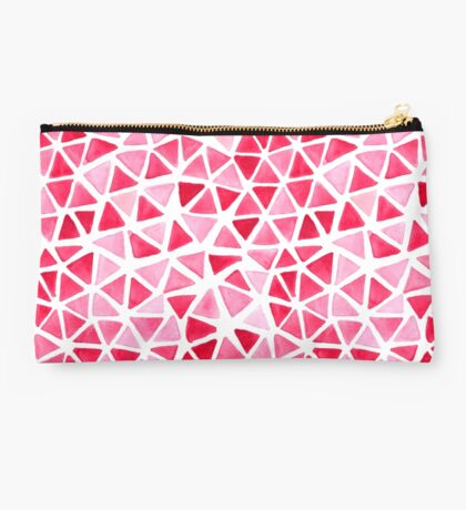 Imperfect Geometry Triangles Studio Pouch