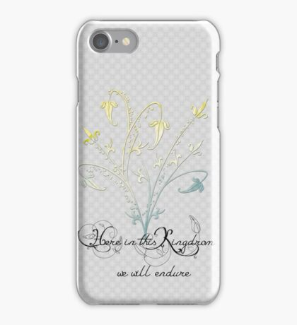 journal of the woodland realm iPhone Case/Skin