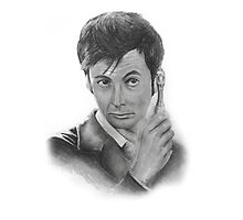 David Tennant from Doctor Who Photographic Print
