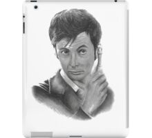 David Tennant from Doctor Who iPad Case/Skin
