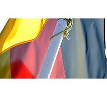 German Flag Photographic Print