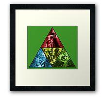 Triforce Zelda Framed Print