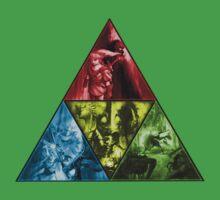 Triforce Zelda by DaRealBoss