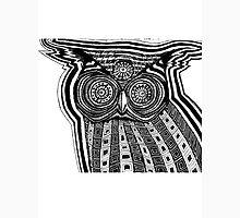 Ultaviolent owl from the 4th dimension  Unisex T-Shirt