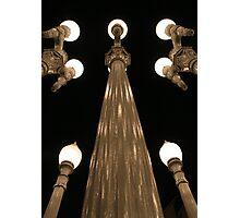 Light Poles Photographic Print