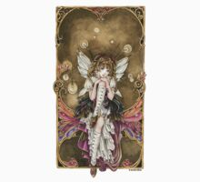 Gears and Glass Steampunk Fairy Kids Clothes
