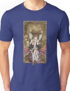 Gears and Glass Steampunk Fairy Unisex T-Shirt