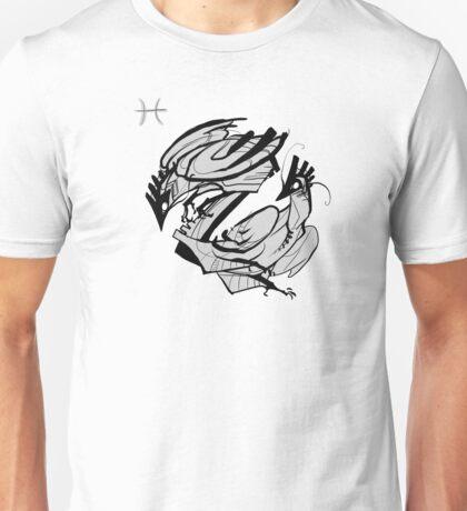 DoubleZodiac - Pisces Rooster Unisex T-Shirt