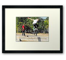Flying. . . Framed Print