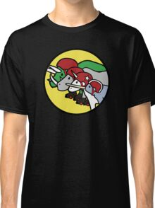 Horned Warrior Friends ROLLER DERBY (Unicorn, Narwhal, Rhino, Triceratops) Classic T-Shirt