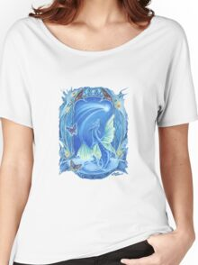 Wishing on a Star baby Dragon fantasy t shirt Women's Relaxed Fit T-Shirt
