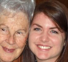 My beautiful mom and niece by ♥⊱ B. Randi Bailey