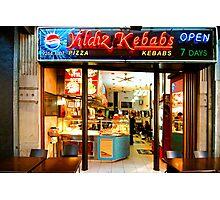 Kebab Diner Sydney Australia Photographic Print