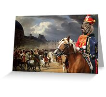 Barbet Art - Napoleon at the Parade in the Court of the Tuileries Palace Greeting Card