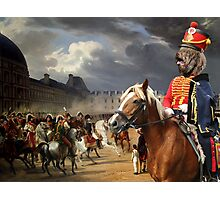 Barbet Art - Napoleon at the Parade in the Court of the Tuileries Palace Photographic Print