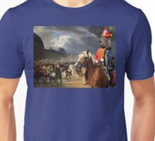 Barbet Art - Napoleon at the Parade in the Court of the Tuileries Palace Unisex T-Shirt