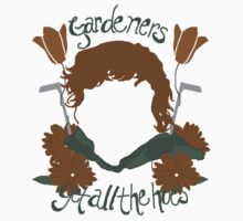 Gardeners Get All the Hoes (Fancy Shmancy) Kids Clothes