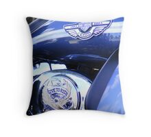 1903-2003 Centenary Harley Davidson Throw Pillow