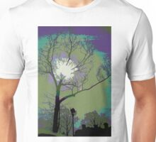 Sun Behind the Trees Unisex T-Shirt