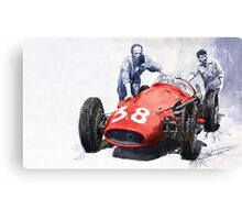Ready for Racing Maserati 250 F Canvas Print