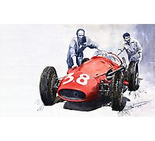 Ready for Racing Maserati 250 F Photographic Print