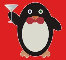 Happy Hour Penguin One Piece - Short Sleeve