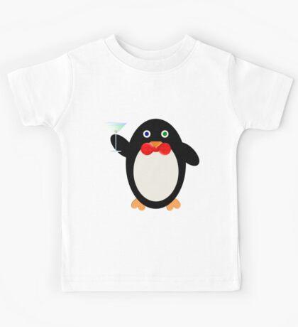 Happy Hour Penguin Kids Tee