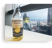 Beer Event in London Canvas Print