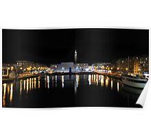 Le Havre : Le bassin du Commerce Poster