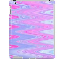 Pink and Blue Bubble Gum Wave iPad Case/Skin