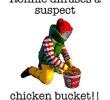 Ronnie diffuses a suspect chicken basket by TimConstable