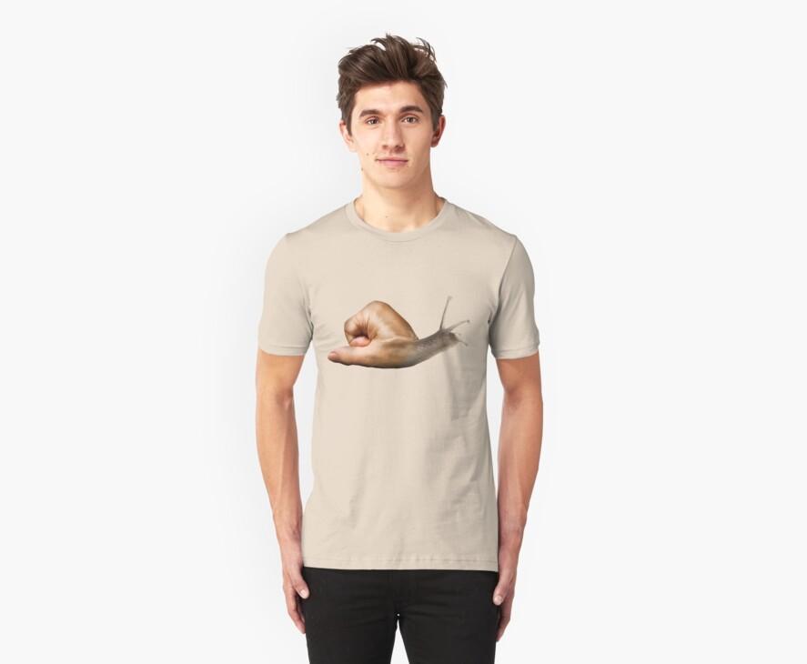 Surreal snail by Paul Fleet