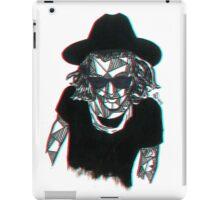 3D Geometric Harry Styles iPad Case/Skin
