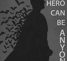 The Dark Knight Minimalist  by TheMinimalist