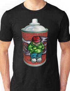 Graffiti art aerosol can Unisex T-Shirt