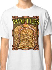 WAFFLES!! Classic T-Shirt