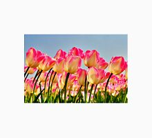 Pink Tulips Bow For The Sun Unisex T-Shirt