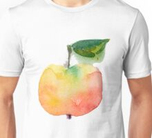 fresh useful eco-friendly apple vector illustration Unisex T-Shirt