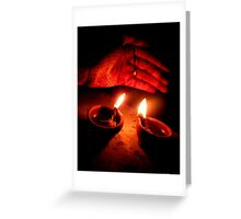 """"""" Let there be light """" Greeting Card"""