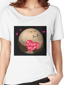 To Pluto With Love Women's Relaxed Fit T-Shirt