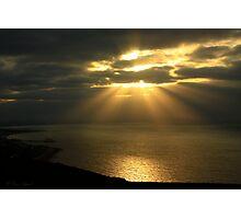 Ray's of Sunrise Photographic Print