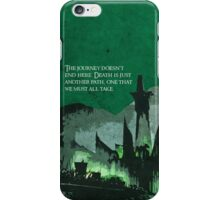 The Return of the King inspired design (2). iPhone Case/Skin