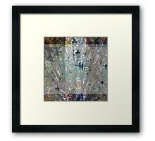 Composition With Ghosted Branches and Birds – July 2, 2010  Framed Print