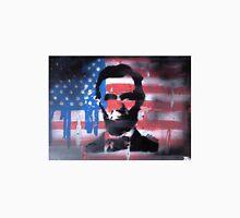 American Flag Lincoln Unisex T-Shirt