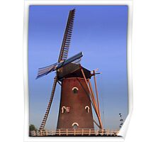 Wind mills are hot Poster