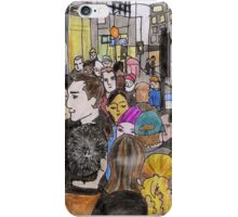 Crowded Oxford Street iPhone Case/Skin