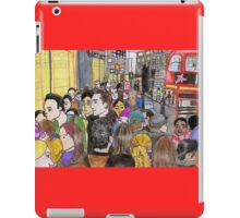 Crowded Oxford Street iPad Case/Skin