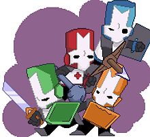 Castle Crashers Pixelart by Mackle-Mouix